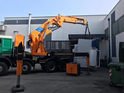 Industrial machinery forwarding
