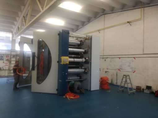 KBA Evo machinery installation